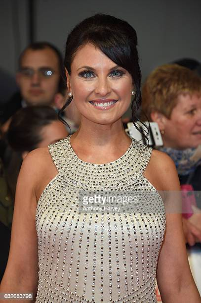 Emma Barton attends the National Television Awards on January 25 2017 in London United Kingdom