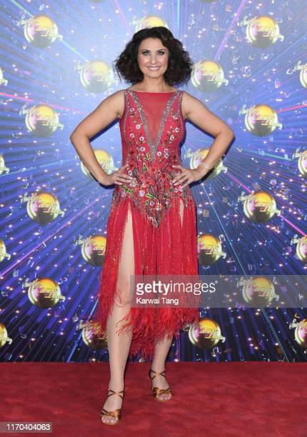 Emma Barton attends the Strictly Come Dancing launch show red carpet arrivals at Television Centre on August 26 2019 in London England