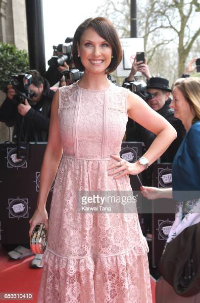 Emma Barton attends the TRIC Awards 2017 at the Grosvenor House on March 14 2017 in London United Kingdom