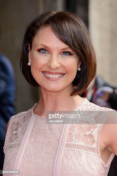 Emma Barton attends the TRIC Awards 2017 on March 14 2017 in London United Kingdom
