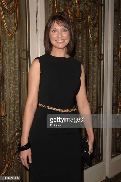 Emma Barton during The Heritage Foundation hosts Lunch in Honour of Actress June Brown Inside Arrivals and Reception at Grosvenor House in London...