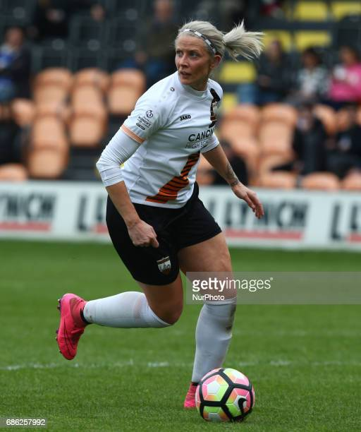 Emma Beckett of London Bees during Women's Super League 2 Spring Series match between London Bees against Everton Ladies at The Hive Barnet FC on 20...
