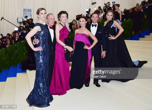 Emma Bloomberg Michael Bloomberg Diana Taylor Georgina Bloomberg arrive at 'Rei Kawakubo/Comme des Garcons Art Of The InBetween' Costume Institute...
