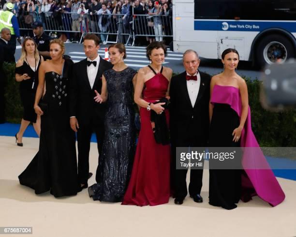Emma Bloomberg Michael Bloomberg Diana Taylor Georgina Bloomberg attend Rei Kawakubo/Commes Des Garcons Art of the InBetween the 2017 Costume...