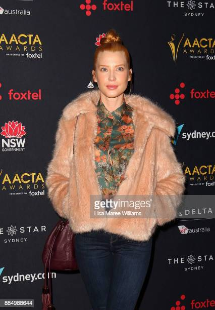 Emma Booth attends the 7th AACTA Awards Presented by Foxtel | Industry Luncheon at The Star on December 4 2017 in Sydney Australia
