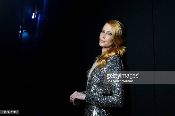 Emma Booth poses backstage during the 7th AACTA Awards Presented by Foxtel at The Star on December 6 2017 in Sydney Australia