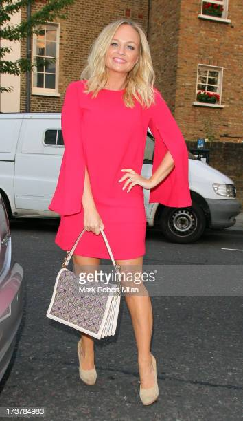 Emma Bunton attending the ITV Summer Reception on July 17 2013 in London England