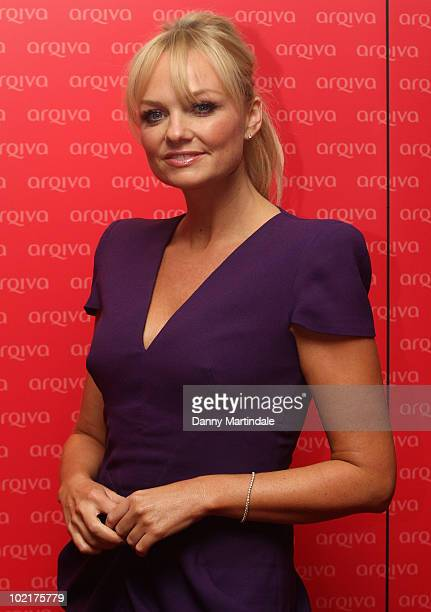 Emma Bunton attends at the Arqiva Commercial Radio Awards at Park Plaza Hotel on June 17 2010 in London England