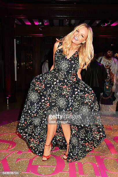"""Emma Bunton attends the after party of the world premiere of """"Absolutely Fabulous: The Movie"""" at Liberty on June 29, 2016 in London, England."""