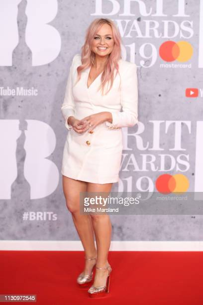 Emma Bunton attends The BRIT Awards 2019 held at The O2 Arena on February 20 2019 in London England