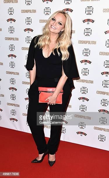 Emma Bunton attends the Cosmopolitan Ultimate Women Of The Year Awards at One Mayfair on December 2 2015 in London England