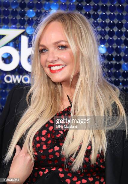 Emma Bunton attends The Global Awards 2018 at Eventim Apollo Hammersmith on March 1 2018 in London England