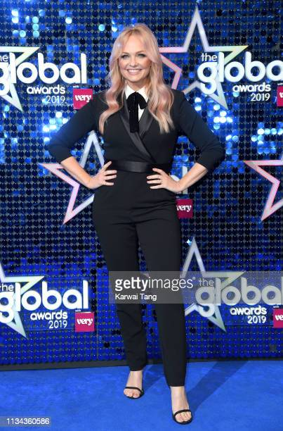 Emma Bunton attends The Global Awards 2019 at Eventim Apollo, Hammersmith on March 07, 2019 in London, England.