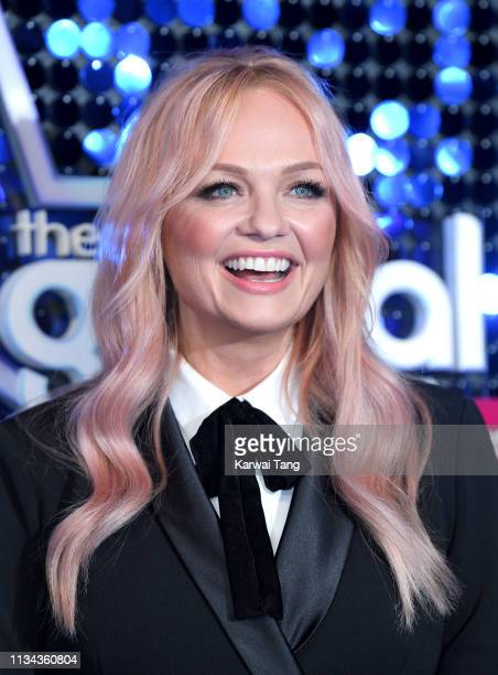 Emma Bunton attends The Global Awards 2019 at Eventim Apollo Hammersmith on March 07 2019 in London England