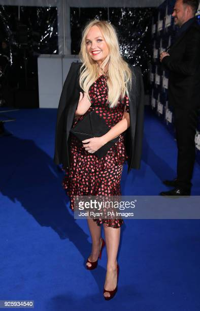 Emma Bunton attends The Global Awards a brand new awards show hosted by Global the Media Entertainment group at London's Eventim Apollo Hammersmith
