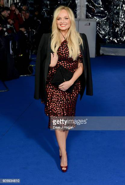Emma Bunton attends The Global Awards a brand new awards show hosted by Global the Media Entertainment Group at Eventim Apollo Hammersmith on March 1...