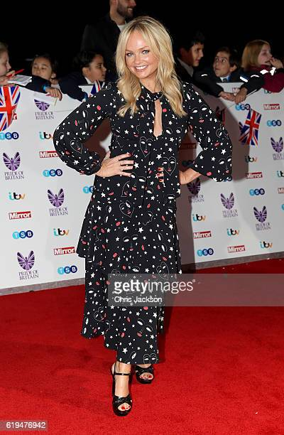 Emma Bunton attends the Pride Of Britain awards at the Grosvenor House Hotel on October 31 2016 in London England