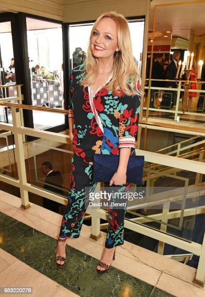 Emma Bunton attends the TRIC Awards 2017 at The Grosvenor House Hotel on March 14 2017 in London England