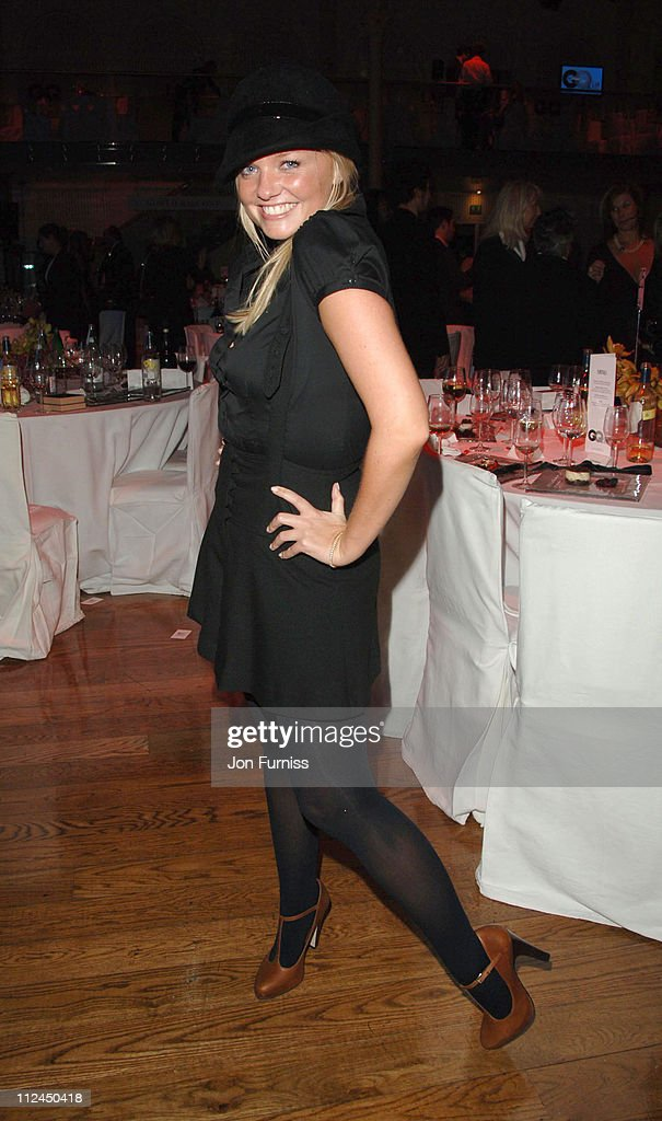 Emma Bunton during GQ Men of the Year Awards - Drinks Reception at Royal Opera House in London, Great Britain.