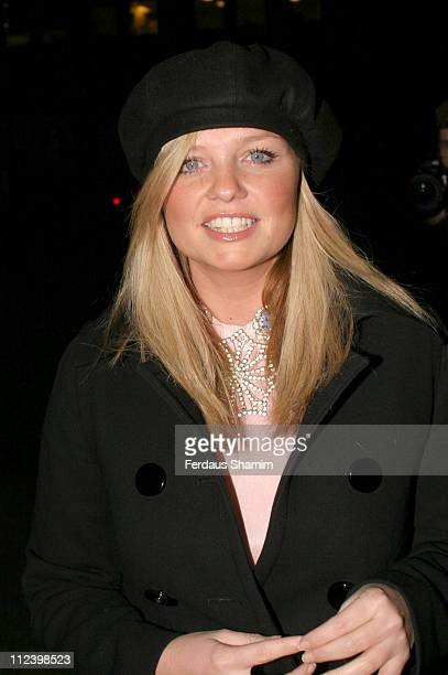 Emma Bunton during Nordoff Robbins Christmas Carol Concert at St Lukes Church in London Great Britain