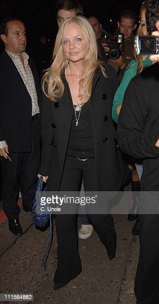 Emma Bunton during Pizza on the Park Launch Party at 11 Knightsbridge in London Great Britain
