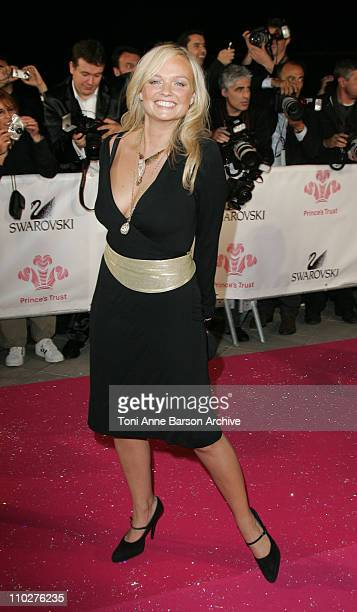 Emma Bunton during Swarovski Fashion Rocks for the Prince's Trust Red Carpet Arrivals at Forum Grimaldi in Monte Carlo Monaco