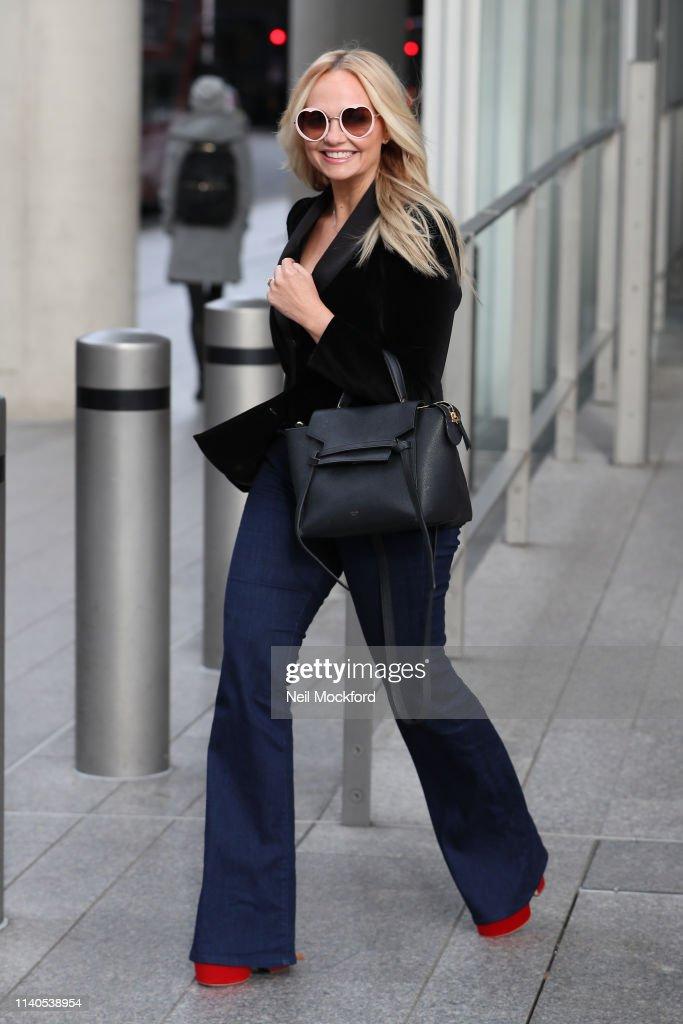 London Celebrity Sightings -  April 5, 2019 : ニュース写真
