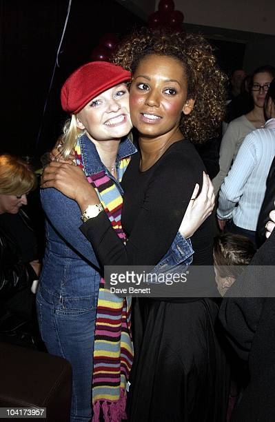 Emma Bunton Mel B The New Cast For Vagina Monologues Celebrated Their First Night Indoorsat The West Street Hotel London