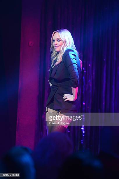 Emma Bunton performs during the Gala Charity of Richard O'Brien's Rocky Horror Show in Aide of Amnesty International which was broadcast live to...