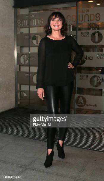 Emma Burton seen leaving BBC The One Show studio after Strictly Come Dancing contestants are announced on July 31 2019 in London England