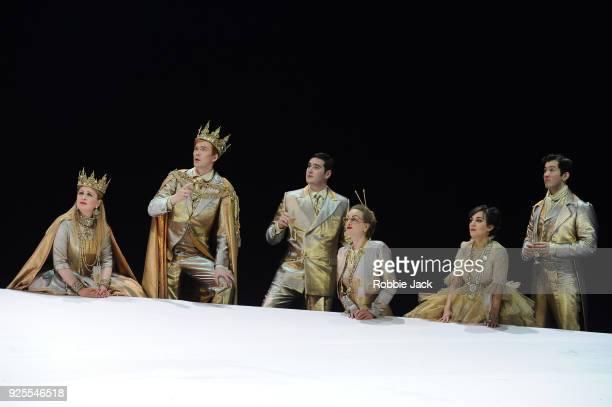 Emma Carrington as Hippolyta Andri Bjorn Robertsson as Theseus Matthew Durkan as Demetrius Eleanor Dennis as Helena Clare Presland as Hermia and...