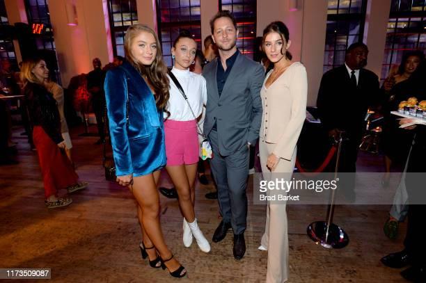 Emma Chamberlain and Derek Blasberg celebrate the launch of YouTubecom/Fashion on September 09 2019 in New York City