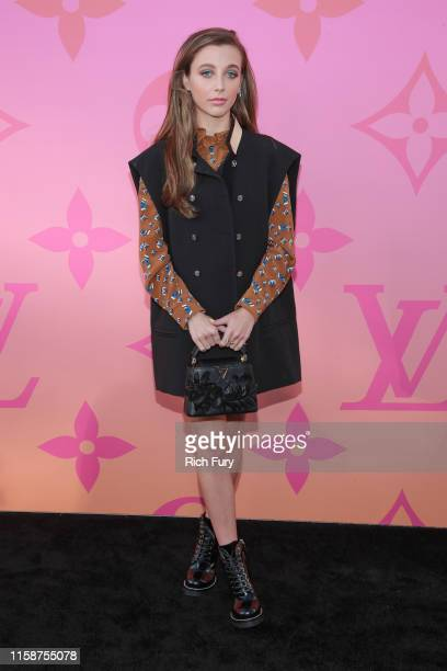 Emma Chamberlain attends Louis Vuitton Unveils Louis Vuitton X An Immersive Journey on June 27 2019 in Beverly Hills California