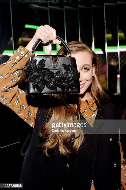 Emma Chamberlain attends Louis Vuitton X Opening Cocktail on June 27 2019 in Beverly Hills California