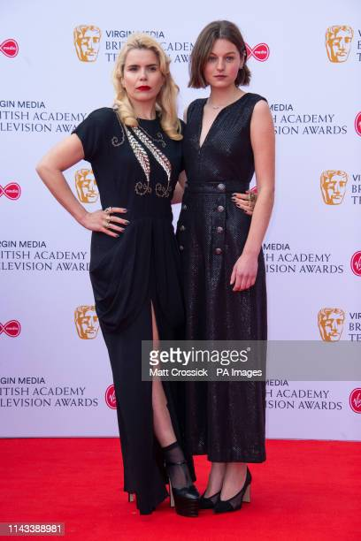 Emma Corin and Paloma Faith attending the Virgin Media BAFTA TV awards held at the Royal Festival Hall in London PRESS ASSOCIATION Photo Picture date...