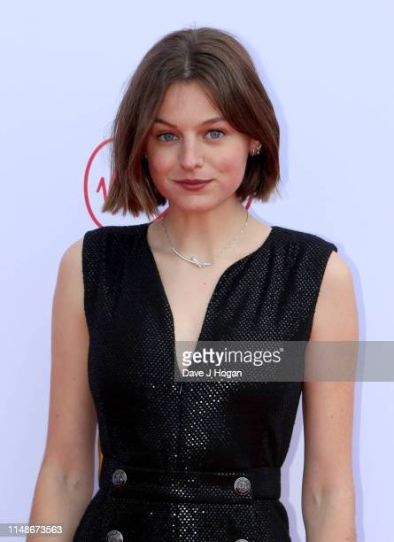 Emma Corrin attends the Virgin Media British Academy Television Awards 2019 at The Royal Festival Hall on May 12 2019 in London England