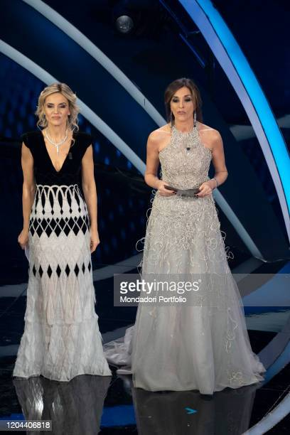 Emma D'Aquino Laura Chimenti at the second evening of the 70 Sanremo Music Festival Sanremo February 5th 2020