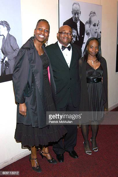 Emma Davis Darrin Miller and Althea Jackson attend AN EVENING OF READINGS at LITERACY PARTNERS' Annual Gala Honoring Arnold Scaasi Liz Smith Parker...