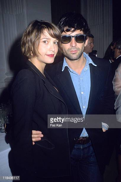 Emma De Caunes and Andre Saraiva during ShangriLa Hotels A Paradise Foretaste Party April 27 2006 at Musee Baccarat in Paris France