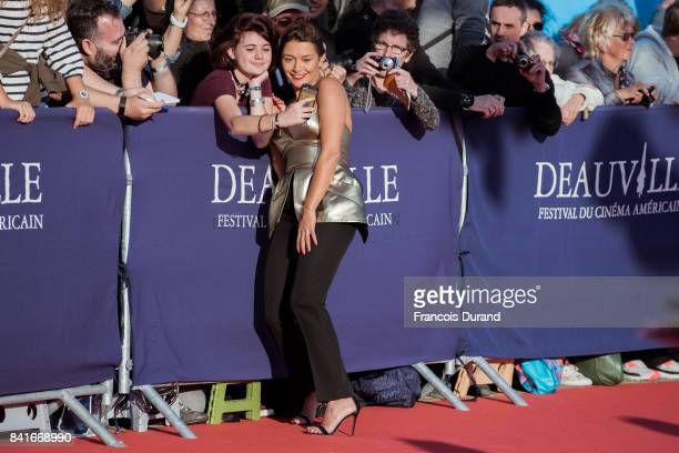 Emma de Caunes arrives at the opening ceremony of the 43rd Deauville American Film Festival on September 1 2017 in Deauville France