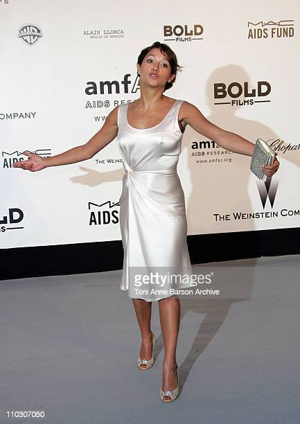Emma de Caunes at amfAR's Cinema Against AIDS event presented by Bold Films the M*A*C AIDS Fund and The Weinstein Company to benefit amfAR