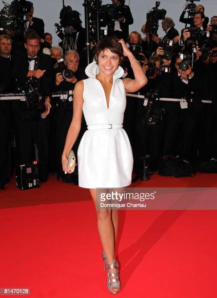 Emma de Caunes attends the 'Changeling' premiere at the Palais des Festivals during the 61st Cannes International Film Festival on May 20 2008 in...