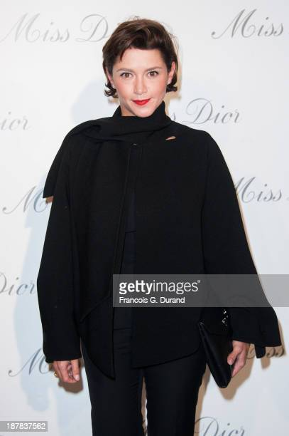 Emma de Caunes attends the 'Esprit Dior Miss Dior' Exhibition Opening at Grand Palais on November 12 2013 in Paris France