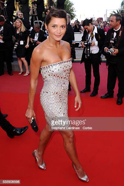 Emma de Caunes attends the premiere of 'The tree' during the 63rd Cannes International Film Festival