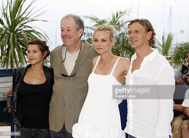 Emma de Caunes, Denys Arcand, Diane Kruger and Marc Labreche