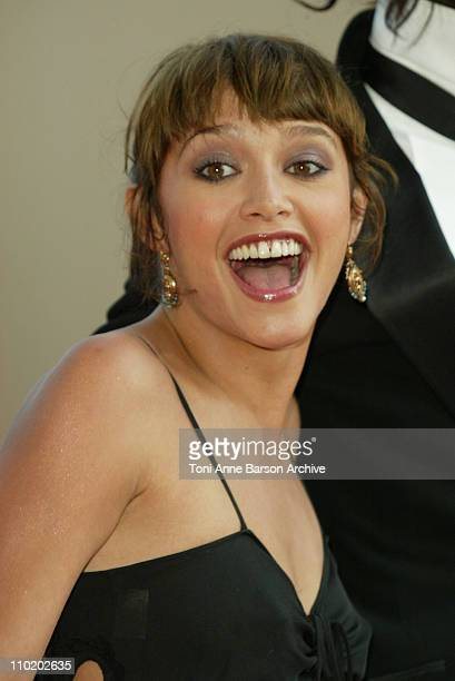 Emma De Caunes during 2004 Cannes Film Festival Motorcycle Diaries and Bad Santa Premieres at Palais Du Festival in Cannes France