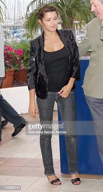 Emma de Caunes during 2007 Cannes Film Festival L'Age des Tenebres Photocall at Palais des Festivals in Cannes France