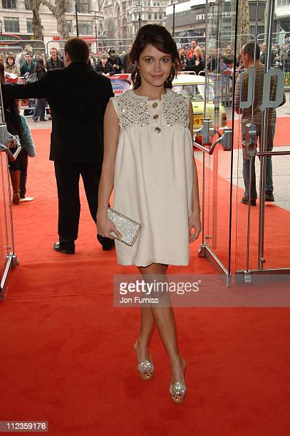 Emma de Caunes during Mr Bean's Holiday London Charity Premiere Inside Arrivals at Odeon Leicester Square in London Great Britain