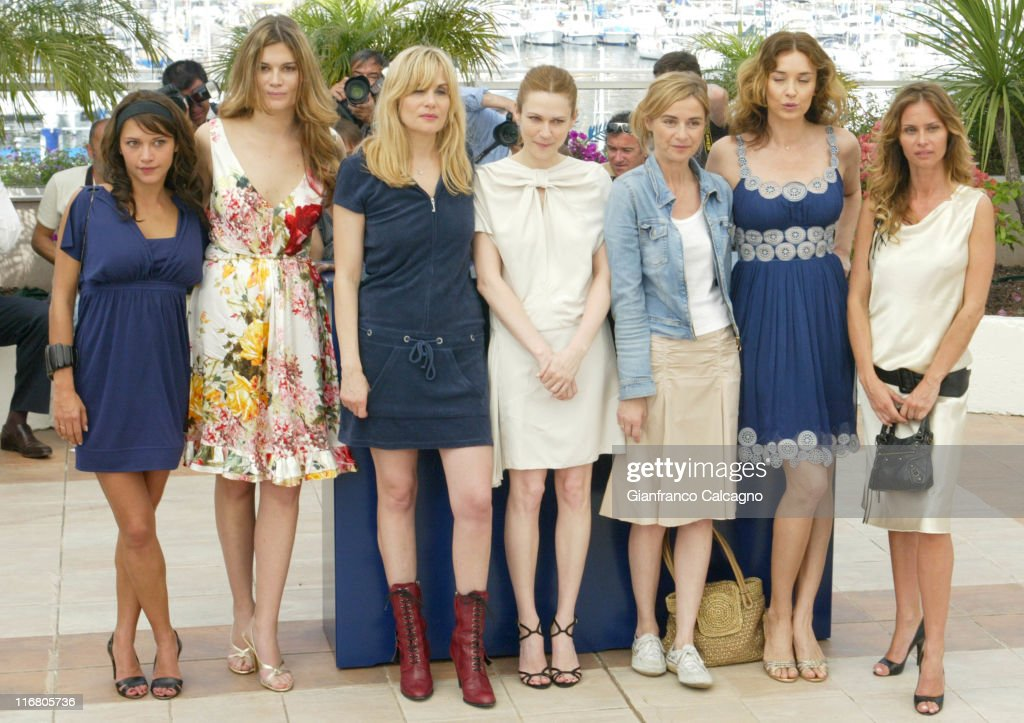 Emma de Caunes, Marina Hands, Emmanuelle Segnier, Marie-Josee Croze, Anne Consigny, Olatz Lopez Garmendia and Agathe de la Fontaine
