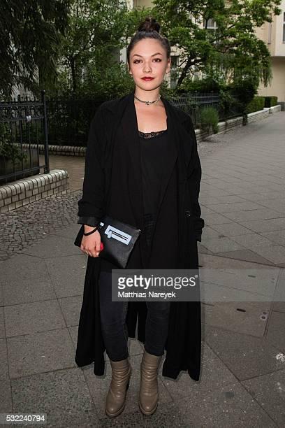 Emma Drogunova during the 'Tatort Wir Ihr Sie' Premiere at Filmkunst 66 on May 18 2016 in Berlin Germany
